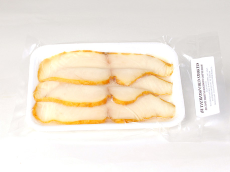 Cold Smoked Butterfish (sliced) 0.5 - 0.6 lb