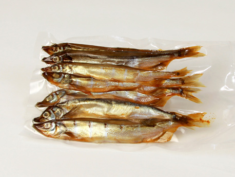 Cold Smoked Capelin 1.00 - 1.15 lb