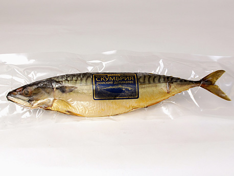Cold Smoked Norway Mackerel (whole) 1.00 - 1.25 lb