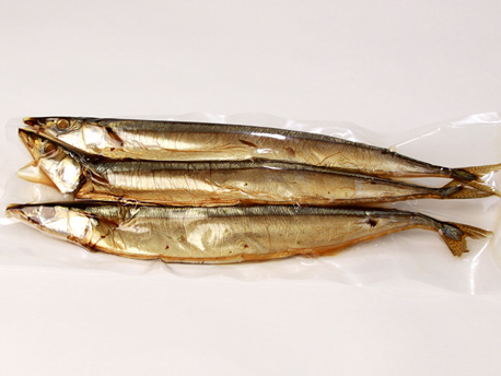 Cold Smoked Saury (3 pieces) 1.00 - 1.15 lb