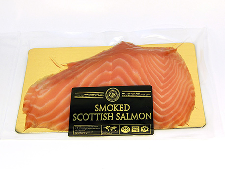 Cold Smoked Scottish Nova Salmon (sliced) 0.5 - 0.6 lb