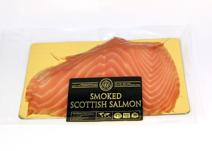 Cold smoked scottish nova salmon sliced 0 5 0 6 lb for Cold smoking fish